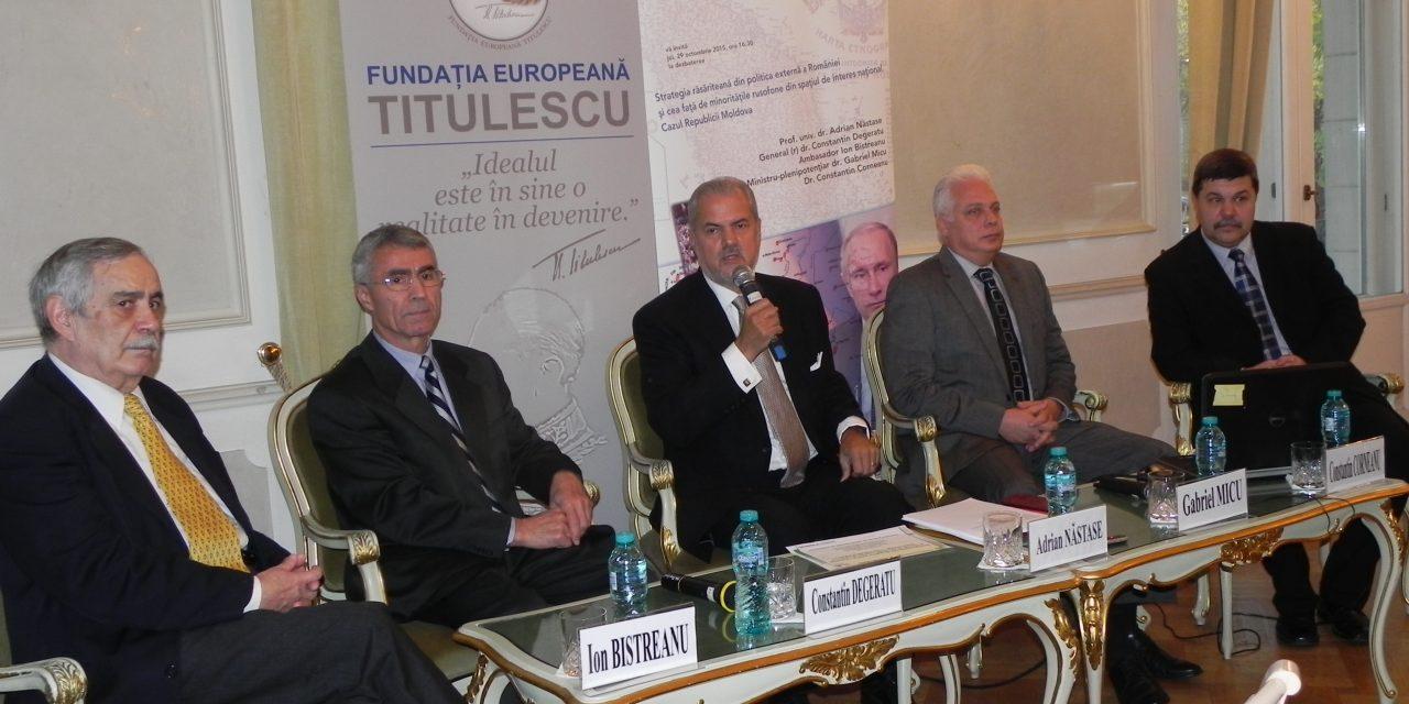 Strategia răsăriteană din politica externă a României