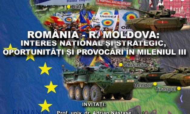România — Republica Moldova: interes național și strategic,  oportunități și provocări în mileniul III