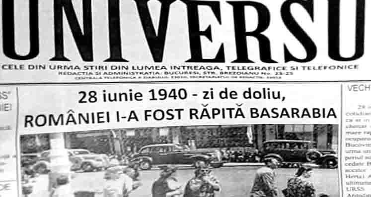 România şi geopolitica Marilor Puteri. 28 iunie 1940