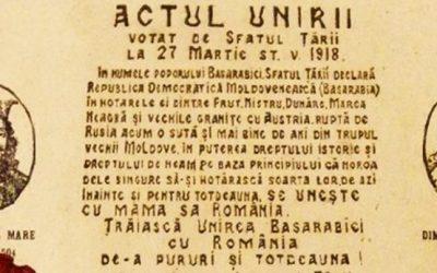 100 de ani de la începutul întregirii României