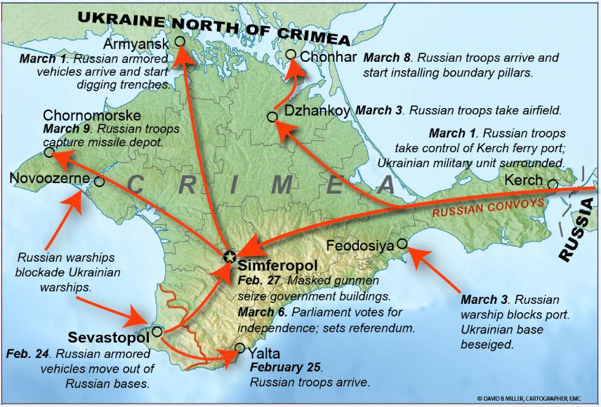 Criza din Peninsula Crimeea și noua geopolitică din zona Mării Negre