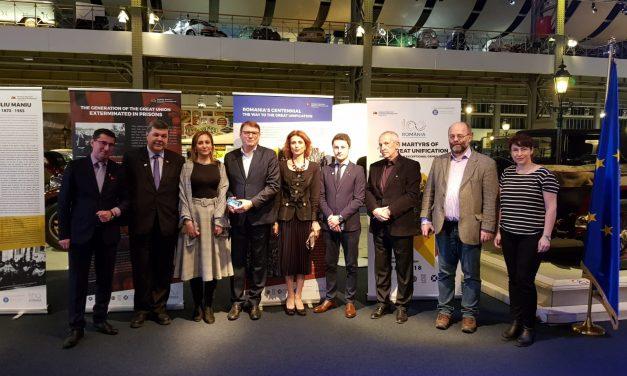 Centenarul României omagiat la Bruxelles