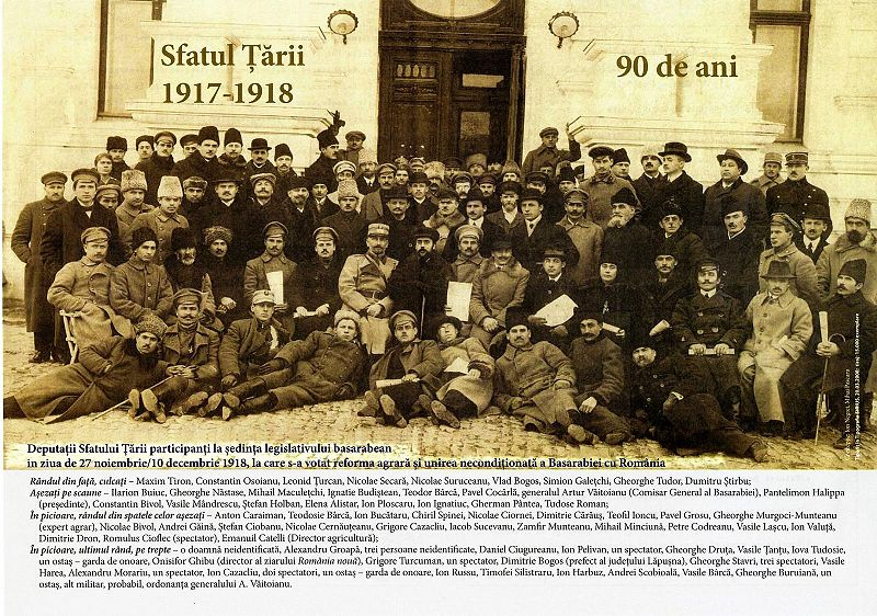 Unirile Românilor. Basarabia – 27 martie 1918