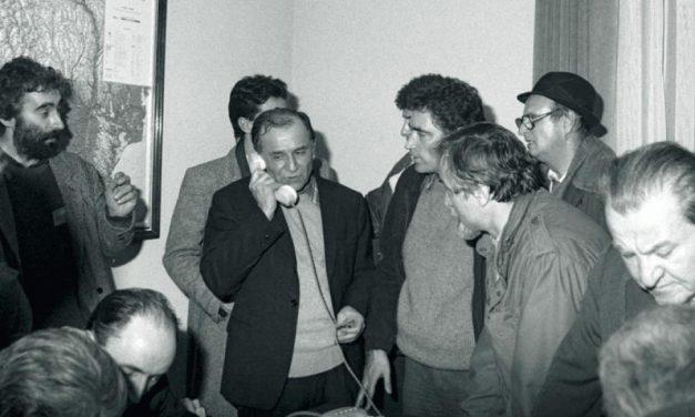 Opoziția politică anti-Ceaușescu și împotrivirile sale la începutul Anului 1989