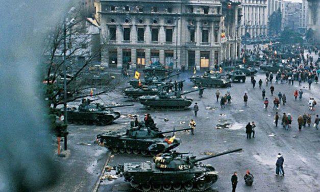 Prăbușirea regimului Ceaușescu și comploturile care l-au zdruncinat
