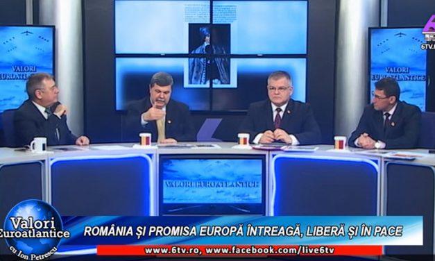 România și promisa Europă întreagă, liberă și în pace