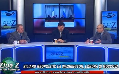 Biliard geopolitic la Washington, Londra și Moscova