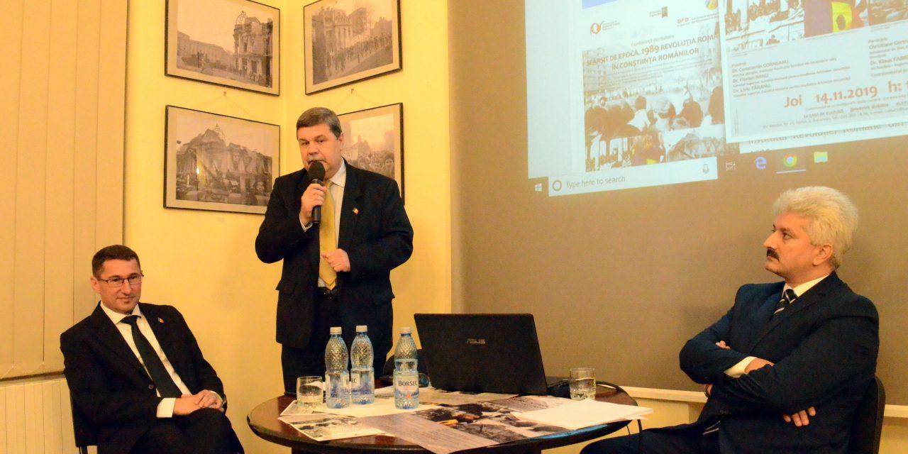 Sfârșit de epocă. 1989 – Revoluția Română în conștiința românilor