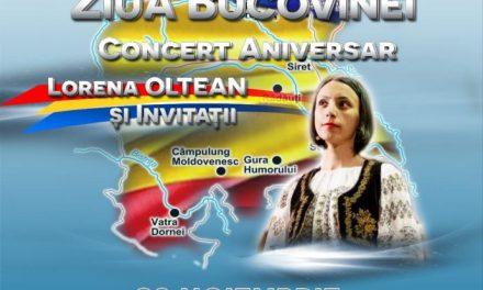 101 ani de la Unirea Bucovinei cu România